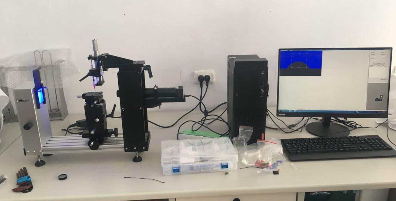 东北师范大学物理学院 接触角测量仪