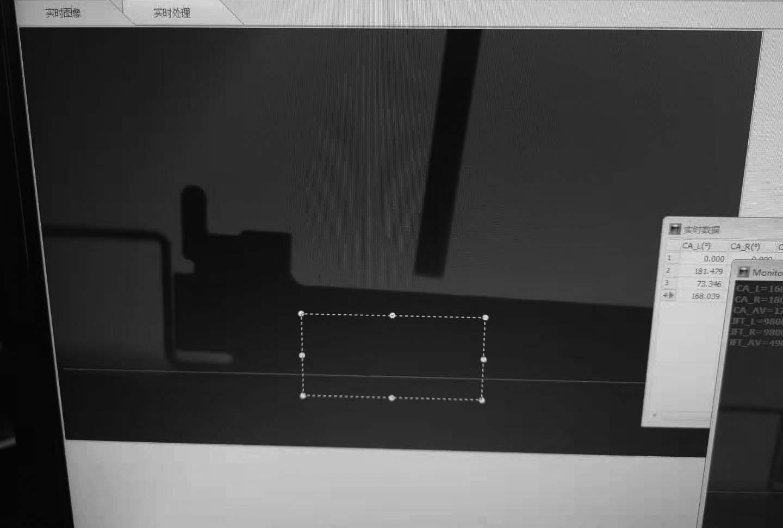 3D接触角测试仪及接触角测量