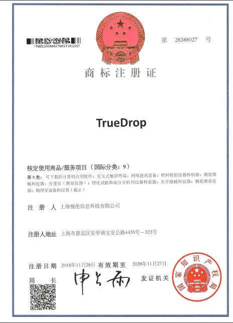 TrueDrop接触角测量算法