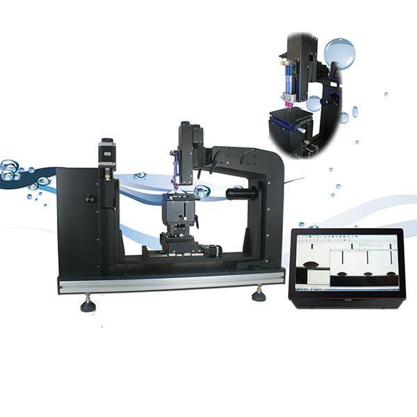 多液滴法接触角测量仪以及全自动表面自由能测试仪